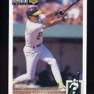 1994 Collector's Choice Baseball #031 Kurt Abbott RC - Oakland A's