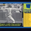 1995 Collector's Choice SE Baseball #264 Kenny Rogers CL - Texas Rangers