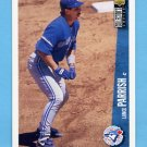 1996 Collector's Choice Baseball #349 Lance Parrish - Toronto Blue Jays