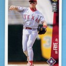 1996 Collector's Choice Baseball #321 Jeff Frye - Texas Rangers