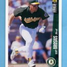 1996 Collector's Choice Baseball #239 Scott Brosius - Oakland A's