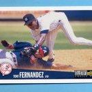 1996 Collector's Choice Baseball #232 Tony Fernandez - New York Yankees