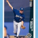 1996 Collector's Choice Baseball #191 Mike Fetters - Milwaukee Brewers