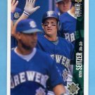 1996 Collector's Choice Baseball #190 Kevin Seitzer - Milwaukee Brewers