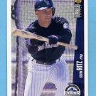 1996 Collector's Choice Baseball #137 Kevin Ritz - Colorado Rockies