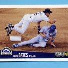 1996 Collector's Choice Baseball #129 Jason Bates - Colorado Rockies