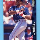 1996 Collector's Choice Baseball #123 Dave Winfield - Cleveland Indians