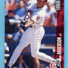 1996 Collector's Choice Baseball #069 Garret Anderson - California Angels