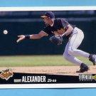 1996 Collector's Choice Baseball #053 Manny Alexander - Baltimore Orioles
