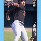 1996 Collector's Choice Baseball #050 Curtis Goodwin - Baltimore Orioles