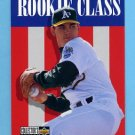 1996 Collector's Choice Baseball #015 John Wasdin - Oakland A's