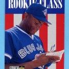 1996 Collector's Choice Baseball #013 Angel Martinez - Toronto Blue Jays