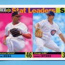 1996 Collector's Choice Baseball #009 Jose Mesa / Randy Myers SL