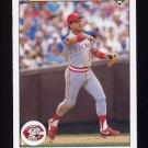 1990 Upper Deck Baseball #593 Luis Quinones - Cincinnati Reds