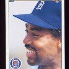 1990 Upper Deck Baseball #348 Chet Lemon - Detroit Tigers
