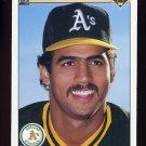 1990 Upper Deck Baseball #209 Stan Javier - Oakland A's