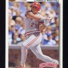 1992 Upper Deck Baseball #696 Carmelo Martinez - Cincinnati Reds