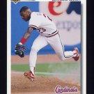 1992 Upper Deck Baseball #552 Bernard Gilkey - St. Louis Cardinals