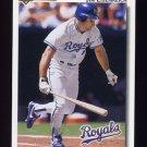 1992 Upper Deck Baseball #539 Jim Eisenreich - Kansas City Royals