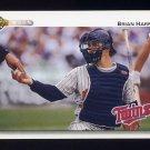 1992 Upper Deck Baseball #527 Brian Harper - Minnesota Twins