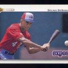 1992 Upper Deck Baseball #167 Delino DeShields - Montreal Expos