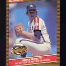 1986 Donruss Highlights Baseball #46 Mike Scott - Houston Astros