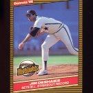 1986 Donruss Highlights Baseball #45 Jim DeShaies - Houston Astros