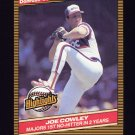1986 Donruss Highlights Baseball #44 Joe Cowley - Chicago White Sox