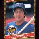 1986 Donruss Highlights Baseball #19 Kent Hrbek - Minnesota Twins