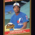 1986 Donruss Highlights Baseball #15 Hubie Brooks - Montreal Expos