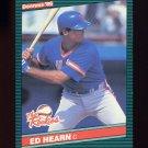 1986 Donruss Rookies Baseball #54 Ed Hearn RC - New York Mets