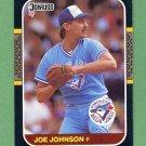 1987 Donruss Baseball #650 Joe Johnson - Toronto Blue Jays