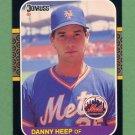 1987 Donruss Baseball #649 Danny Heep - New York Mets