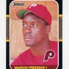 1987 Donruss Baseball #576 Marvin Freeman RC - Philadelphia Phillies Ex
