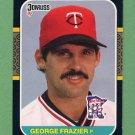 1987 Donruss Baseball #564 George Frazier - Minnesota Twins