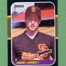 1987 Donruss Baseball #557 Jimmy Jones RC - San Diego Padres