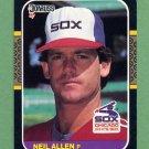 1987 Donruss Baseball #507 Neil Allen - Chicago White Sox