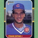 1987 Donruss Baseball #416 Frank DiPino - Chicago Cubs