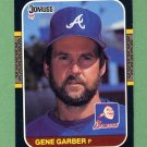1987 Donruss Baseball #414 Gene Garber - Atlanta Braves