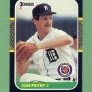 1987 Donruss Baseball #373 Dan Petry - Detroit Tigers