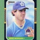 1987 Donruss Baseball #366 Mike Morgan - Seattle Mariners