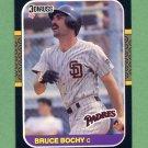 1987 Donruss Baseball #311 Bruce Bochy - San Diego Padres
