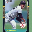 1987 Donruss Baseball #297 Al Nipper - Boston Red Sox