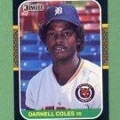 1987 Donruss Baseball #230 Darnell Coles - Detroit Tigers
