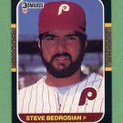 1987 Donruss Baseball #185 Steve Bedrosian - Philadelphia Phillies