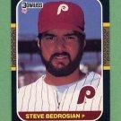 1987 Donruss Baseball #185 Steve Bedrosian - Philadelphia Phillies