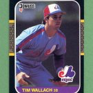 1987 Donruss Baseball #179 Tim Wallach - Montreal Expos