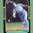 1987 Donruss Baseball #177 Dan Quisenberry - Kansas City Royals