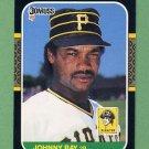 1987 Donruss Baseball #144 Johnny Ray - Pittsburgh Pirates