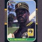 1987 Donruss Baseball #065 R.J. Reynolds - Pittsburgh Pirates